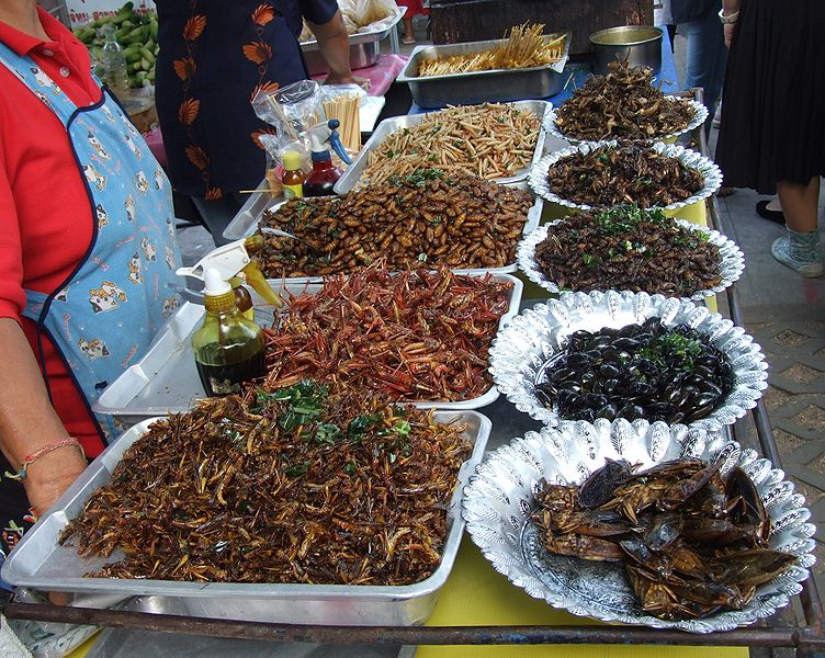 Flavors of Thailand (in Japan): Grasshoppers